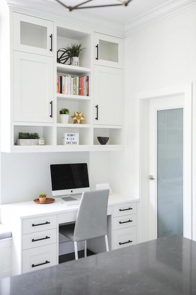 Các thiết kế phòng làm việc tại nhà dành riêng cho những ai theo lối sống tối giản - Ảnh 5.