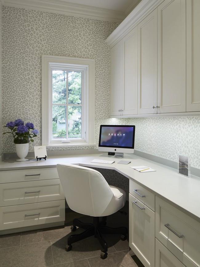 Các thiết kế phòng làm việc tại nhà dành riêng cho những ai theo lối sống tối giản - Ảnh 8.