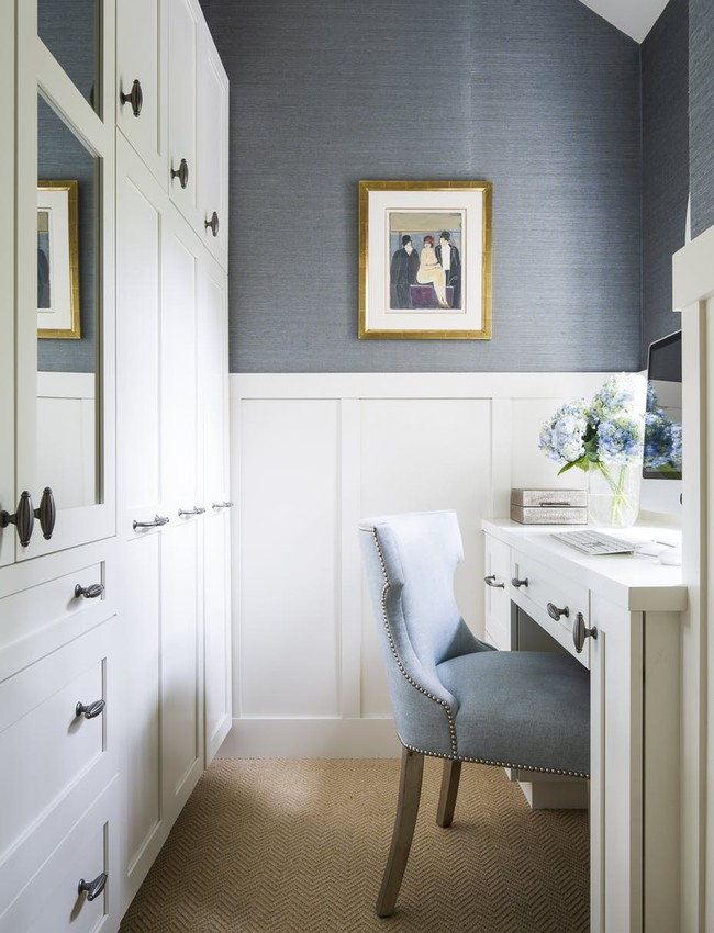 Các thiết kế phòng làm việc tại nhà dành riêng cho những ai theo lối sống tối giản - Ảnh 10.