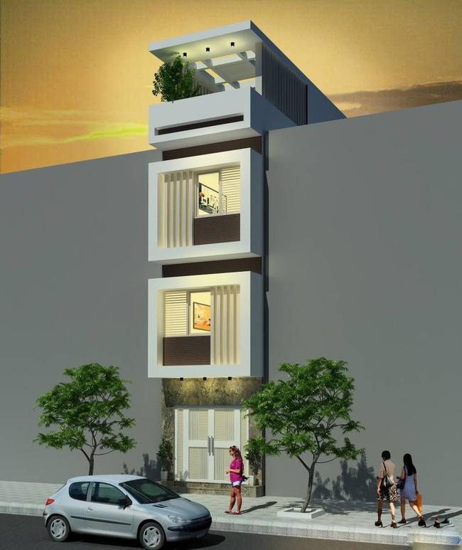 Tư vấn thiết kế nhà ở gia đình có diện tích (3.5x10m2) theo phong cách tối giản với chi phí hơn 900 triệu - Ảnh 5.