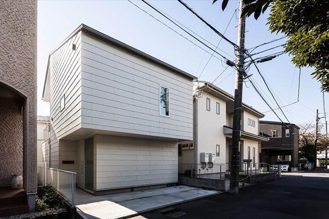 Ngôi nhà độc đáo gắn liền với thiên nhiên dù vị trí nằm ngay trong phố lớn ở Nhật Bản - Ảnh 1.