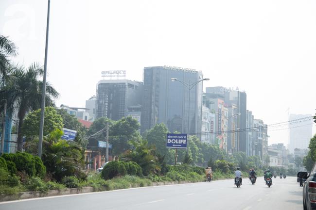 Hà Nội những ngày khói bụi bao trùm thành phố ngỡ như sương mù rải rác - Ảnh 13.