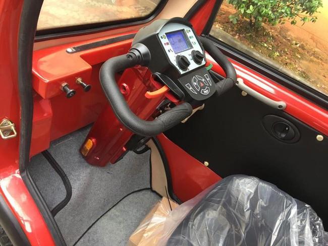Chiêm ngưỡng 3 mẫu xe ô tô điện mini siêu hot trong thời điểm này, cái đắt nhất cũng chỉ 100 triệu đồng - Ảnh 14.