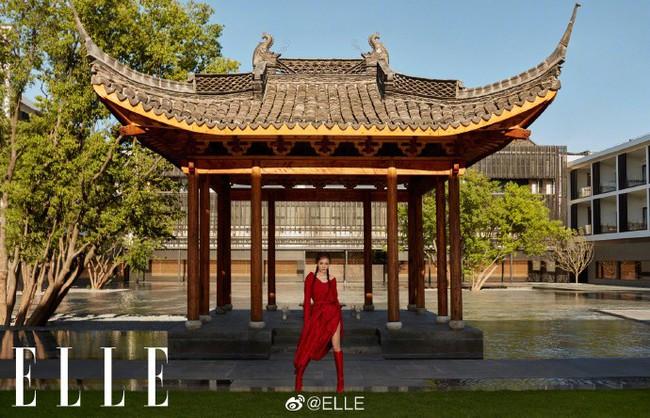 Chồng cũ vừa dính tin đồn hẹn hò gái trẻ, Dương Mịch đã kịp hồi xuân với tóc tết hai bên  - Ảnh 5.