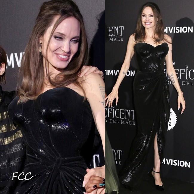 """Angelina Jolie lại chiếm spotlight với diện mạo như nữ thần Hy Lạp khi thay liền 2 bộ đồ từ """"khó cảm"""" đến gợi cảm - Ảnh 8."""