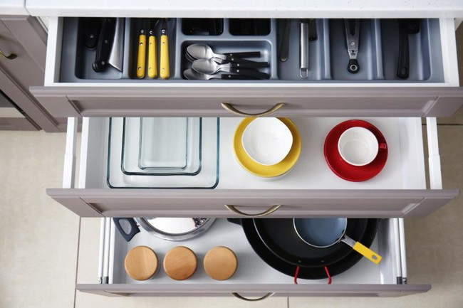 7 sai lầm trong khâu tổ chức khiến nhà bếp của bạn trở nên vô cùng luộm thuộm - Ảnh 5.