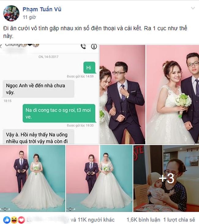 Cặp đôi nên duyên sau 1 lần đi đám cưới bạn chung: 99 ngày sau nên nghĩa vợ chồng - Ảnh 1.