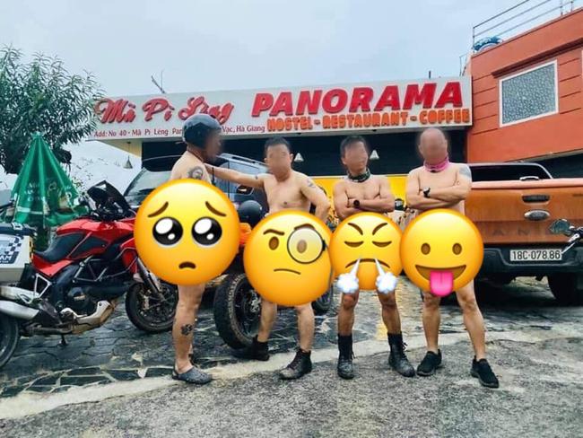 """Chủ nhân của những hình ảnh khỏa thân 95%, """"tự sướng"""" trước khách sạn Panorama đèo Mã Pí Lèng đã khóa tài khoản facebook - Ảnh 3."""