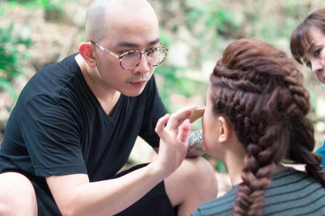 Chuyên gia trang điểm Minh Lộc: Cầm cọ từ năm 17 tuổi và  - Ảnh 3.