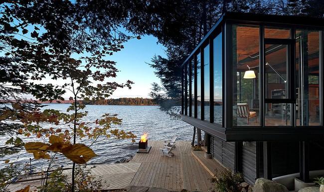 Ngôi nhà lưng tựa núi, mặt view hồ đẹp chất ngất dành cho những ai muốn sống gần thiên nhiên - Ảnh 2.