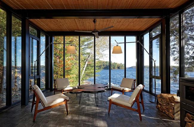 Ngôi nhà lưng tựa núi, mặt view hồ đẹp chất ngất dành cho những ai muốn sống gần thiên nhiên - Ảnh 5.