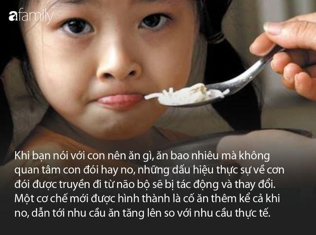 Hệ lụy khi ép con ăn và 8 nguyên tắc cho con ăn cha mẹ cần nhớ - Ảnh 2.