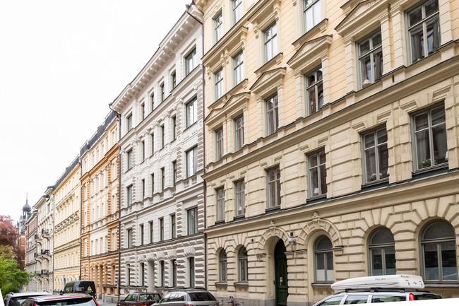 Một chút màu xanh coban sẫm cho căn hộ ở Nga đẹp sang chảnh đến khó cưỡng - Ảnh 13.