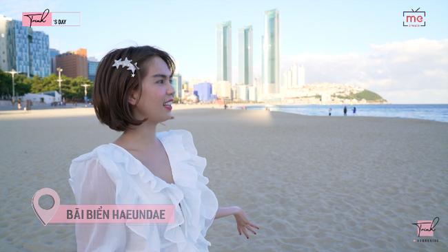 """Tung vlog du hí Hàn Quốc cùng ngày với Vũ Khắc Tiệp, Ngọc Trinh gây sốc vì ăn sống loài cá có tên gọi """"nhạy cảm"""" - Ảnh 18."""
