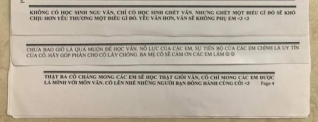 """Muốn học sinh học tập chăm chỉ, cô giáo Văn kỳ công viết những lời nhăn nhủ, nhưng đọc xong ai cũng ôm bụng cười vì sặc mùi """"cà khịa"""" - Ảnh 2."""