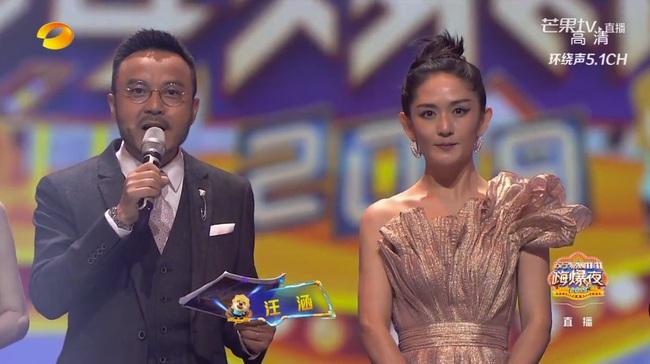 """""""Nữ MC số 1 Trung Quốc"""" Tạ Na lại gây náo loạn với nhan sắc bị makeup hại, netizen ví von như Bao Thanh Thiên - Ảnh 2."""