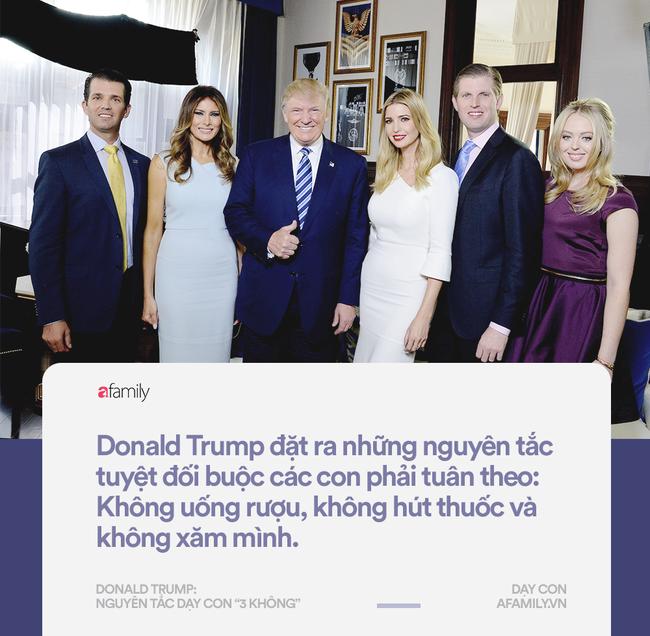 Làm tổng thống thì gây tranh cãi nhưng về cách dạy con, đố ai bắt bẻ được Donald Trump điều gì - Ảnh 3.