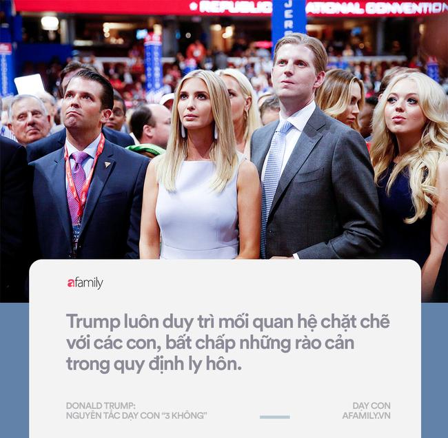 Làm tổng thống thì gây tranh cãi nhưng về cách dạy con, đố ai bắt bẻ được Donald Trump điều gì - Ảnh 5.