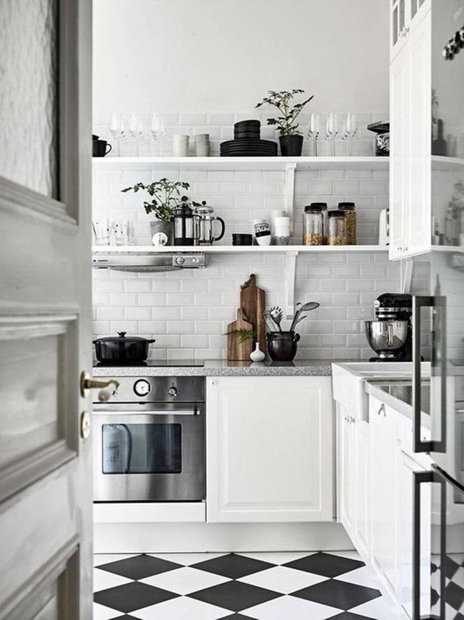 10 cách siêu nhanh và siêu dễ để tạo một không gian nấu nướng đẹp thanh lịch theo phong cách Scandinavian - Ảnh 2.