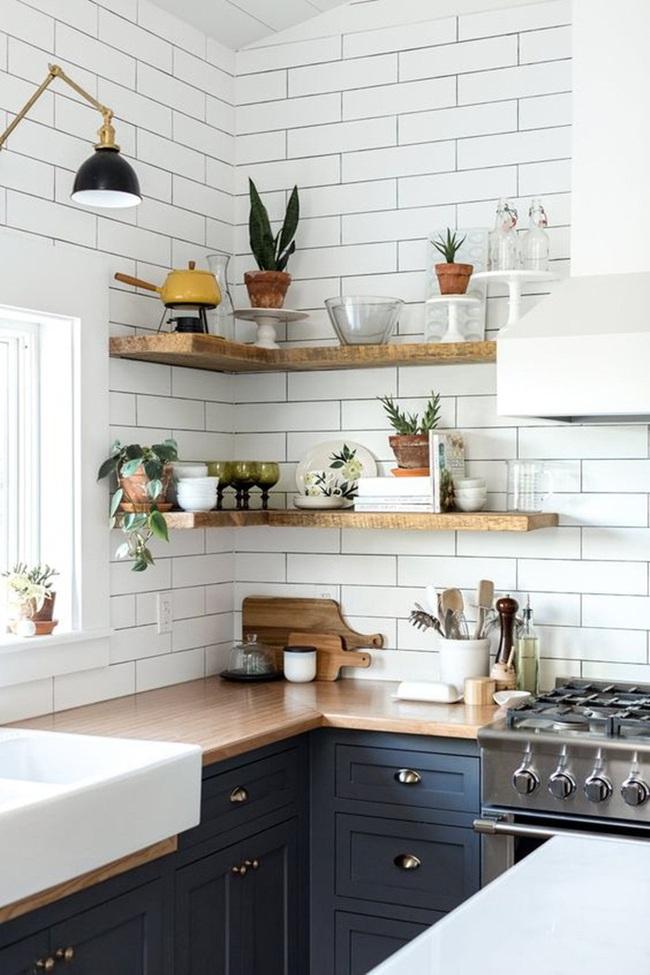 10 ý tưởng thiết kế kệ siêu xinh cho nhà bếp đón năm mới - Ảnh 2.