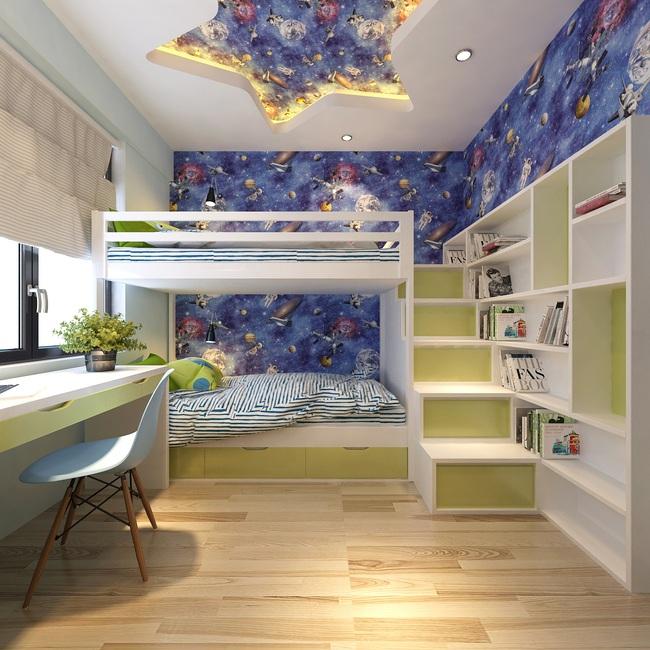 Tư vấn thiết kế căn hộ tập thể 52m2 với chi phí 140 triệu đồng - Ảnh 12.