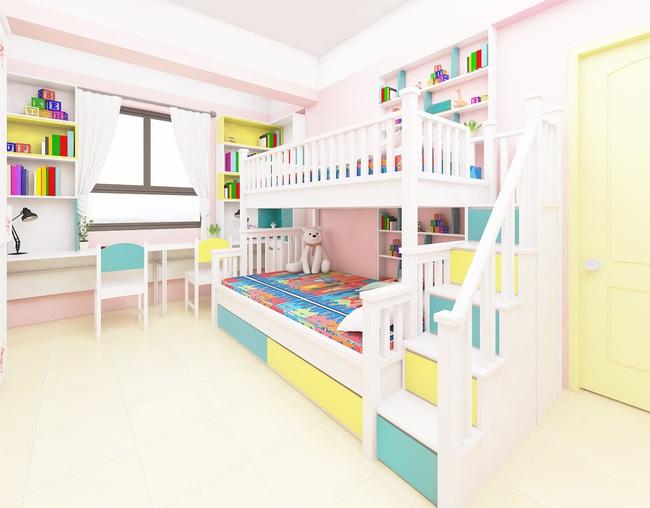 Tư vấn thiết kế căn hộ tập thể 52m2 với chi phí 140 triệu đồng - Ảnh 13.