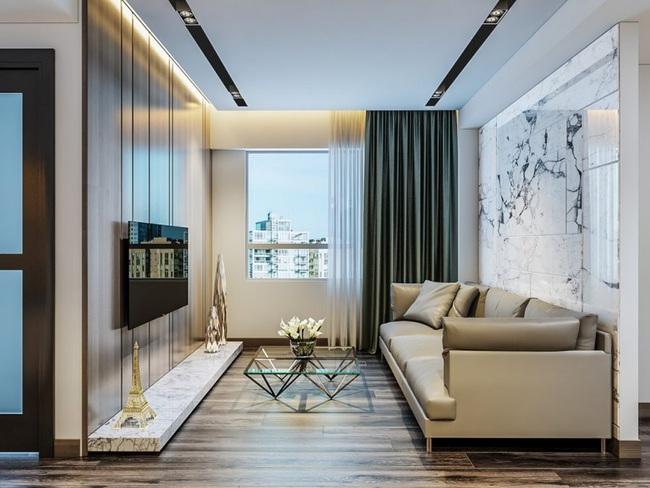 Tư vấn thiết kế căn hộ tập thể 52m2 với chi phí 140 triệu đồng - Ảnh 10.