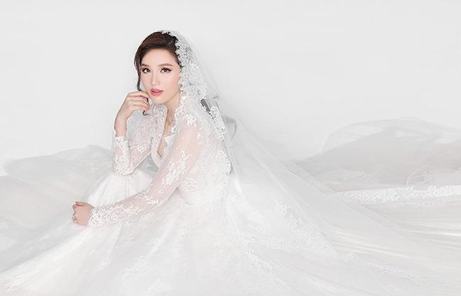 Ngay sau đám cưới Đông Nhi, Bảo Thy cũng khoe 3 mẫu váy cưới đẹp mê hồn, chuẩn bị lên xe hoa với chồng đại gia - Ảnh 7.