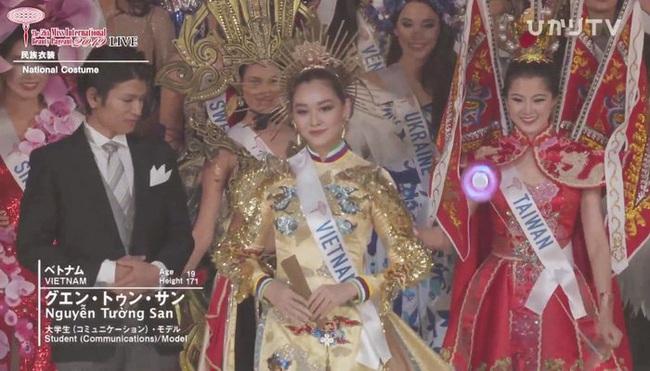 Chung kết Miss International 2019: Tường San xuất sắc giành giải Trang phục dân tộc đẹp nhất  - Ảnh 3.