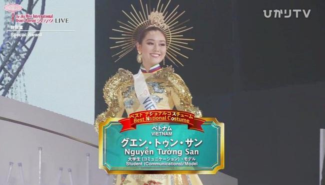 Chung kết Miss International 2019: Tường San xuất sắc giành giải Trang phục dân tộc đẹp nhất  - Ảnh 2.