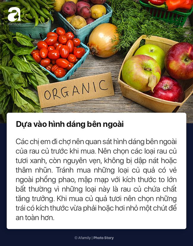 To nhỏ cho chị em mới lần đầu đi chợ cách chọn rau củ quả tươi ngon không dính hóa chất cực kỳ đơn giản - Ảnh 2.
