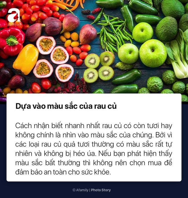 To nhỏ cho chị em mới lần đầu đi chợ cách chọn rau củ quả tươi ngon không dính hóa chất cực kỳ đơn giản - Ảnh 3.