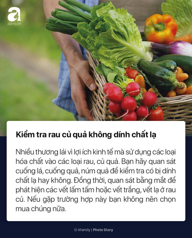 To nhỏ cho chị em mới lần đầu đi chợ cách chọn rau củ quả tươi ngon không dính hóa chất cực kỳ đơn giản - Ảnh 6.
