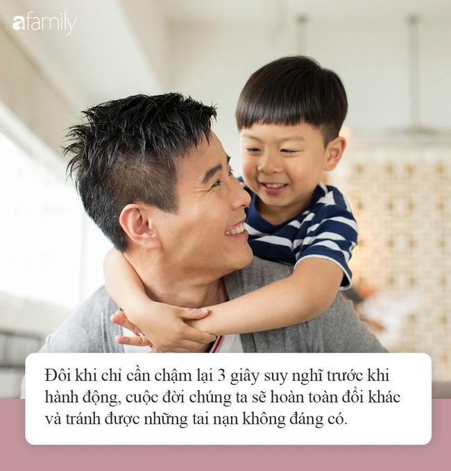 Con trai nhỏ đòi đi tắm sông, bố giả vờ đồng ý nhưng làm 1 hành động khiến con hốt hoảng, học được tính cẩn thận suốt đời - Ảnh 4.