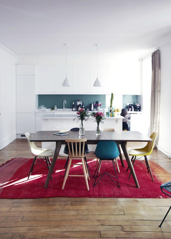 """Những ý tưởng tạo vẻ đẹp """"thời thượng"""" cho phòng ăn bằng bí quyết kết hợp nội thất - Ảnh 8."""