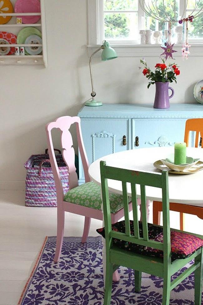 """Những ý tưởng tạo vẻ đẹp """"thời thượng"""" cho phòng ăn bằng bí quyết kết hợp nội thất - Ảnh 11."""