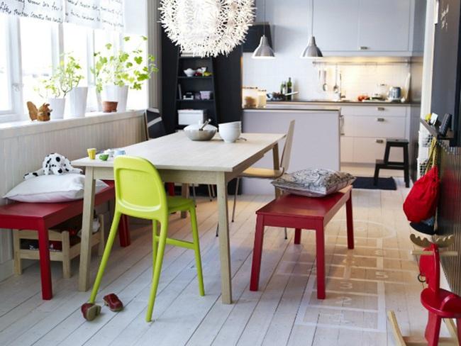 """Những ý tưởng tạo vẻ đẹp """"thời thượng"""" cho phòng ăn bằng bí quyết kết hợp nội thất - Ảnh 9."""