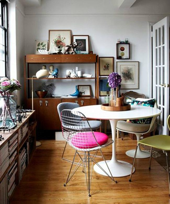 """Những ý tưởng tạo vẻ đẹp """"thời thượng"""" cho phòng ăn bằng bí quyết kết hợp nội thất - Ảnh 17."""
