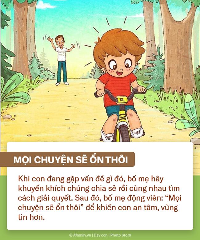 """Muốn con hạnh phúc tự tin trong cuộc sống, bố mẹ hãy tích cực nói 9 câu """"nhỏ nhưng có võ"""" này mỗi ngày - Ảnh 6."""