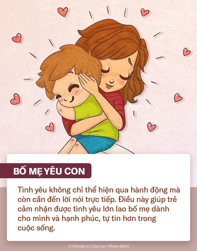 """Muốn con hạnh phúc tự tin trong cuộc sống, bố mẹ hãy tích cực nói 9 câu """"nhỏ nhưng có võ"""" này mỗi ngày - Ảnh 9."""