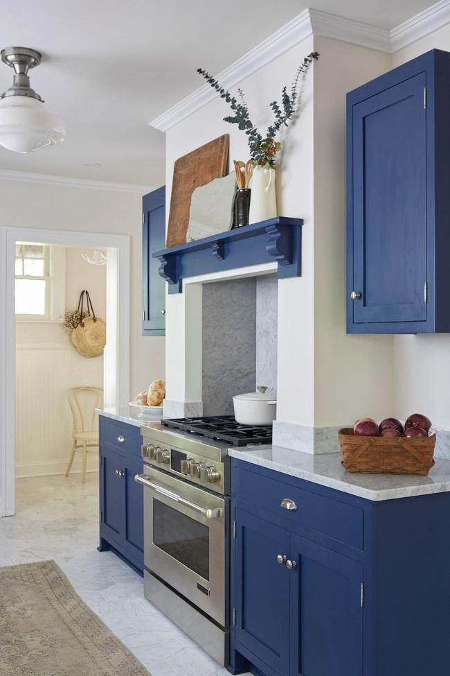 Thêm 15 loại sơn nhà bếp vô cùng bắt mắt khiến bạn chỉ muốn đứng mãi trong bếp nấu nướng mỗi ngày - Ảnh 12.