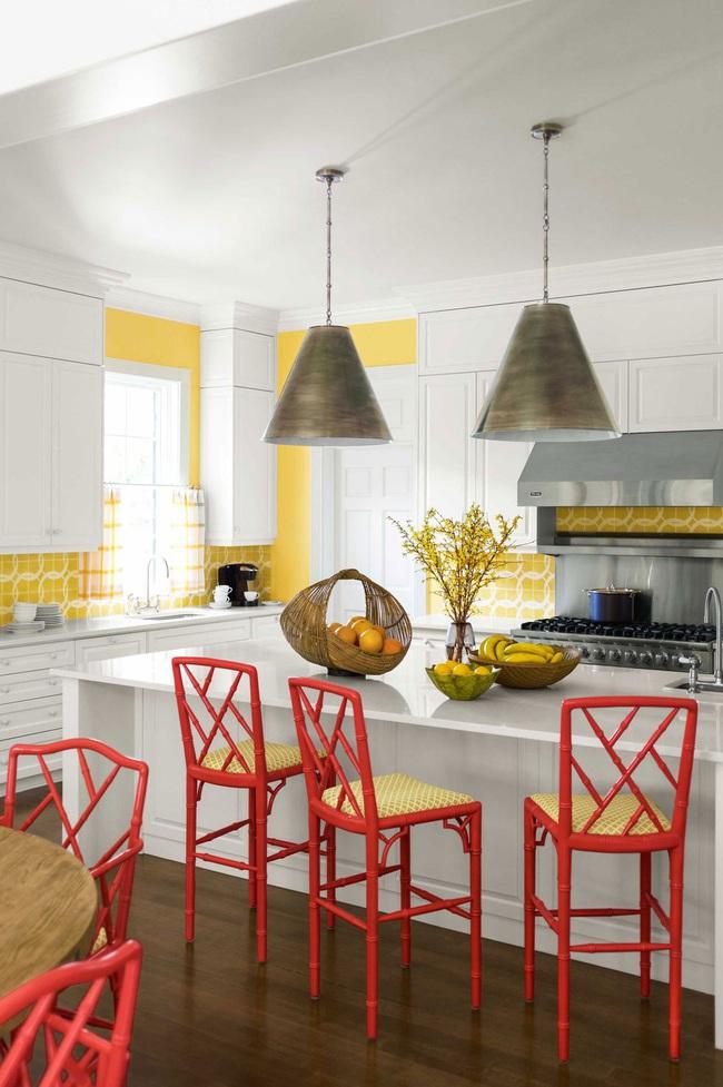 Thêm 15 loại sơn nhà bếp vô cùng bắt mắt khiến bạn chỉ muốn đứng mãi trong bếp nấu nướng mỗi ngày - Ảnh 14.
