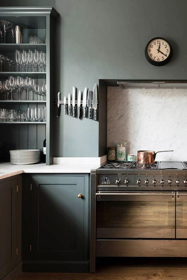 Thêm 15 loại sơn nhà bếp vô cùng bắt mắt khiến bạn chỉ muốn đứng mãi trong bếp nấu nướng mỗi ngày - Ảnh 15.