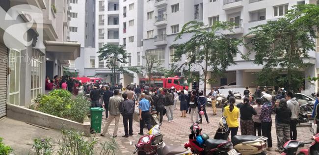 Hà Nội: Cháy chung cư vắng chủ nhà, người già ôm trẻ nhỏ chạy bộ từ tầng cao xuống - Ảnh 14.