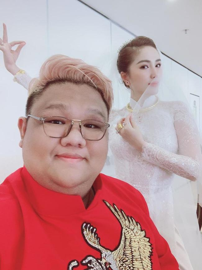 Bảo Thy hội ngộ người bạn thân 10 năm Vương Khang trong ngày lên xe hoa về nhà chồng - Ảnh 2.