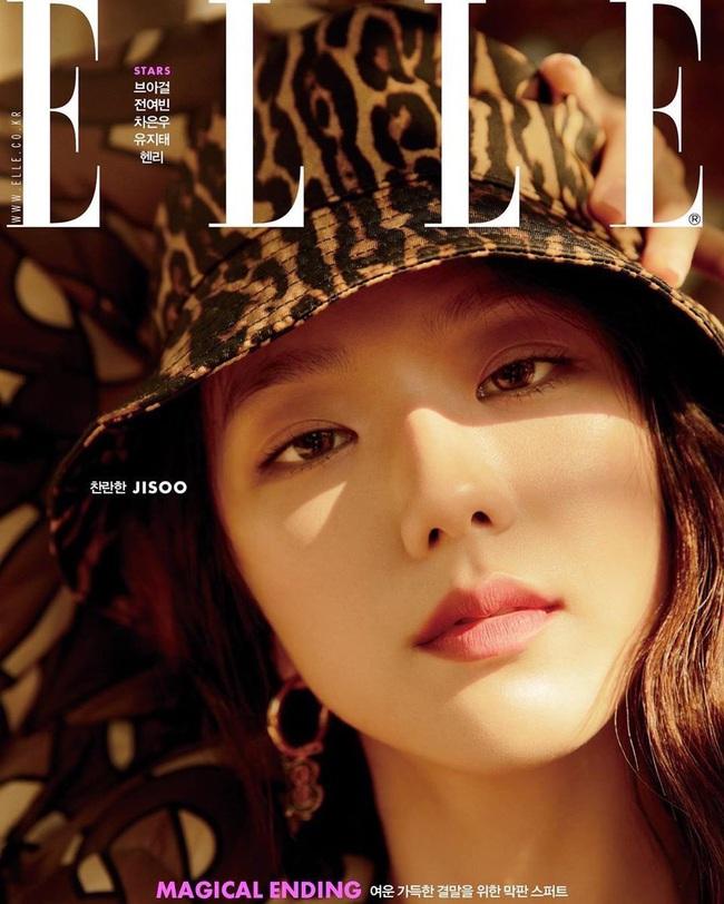 Không còn bánh bèo nhẹ nhàng, Jisoo cá tính đến ngỡ ngàng khi lên bìa tạp chí thời trang danh tiếng - Ảnh 3.