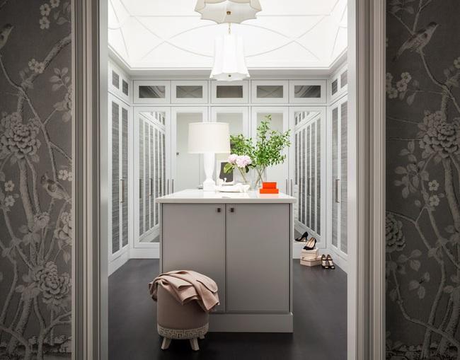 Tham khảo nhanh vài gợi ý để căn phòng thay đồ của bạn thêm hoàn mỹ - Ảnh 4.