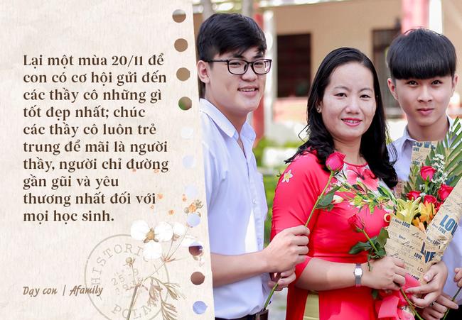 Nhân ngày nhà giáo Việt Nam, bố mẹ cùng con bỏ túi 10 câu chúc vừa ý nghĩa, vừa ấm áp tràn ngập tình thầy trò - Ảnh 7.