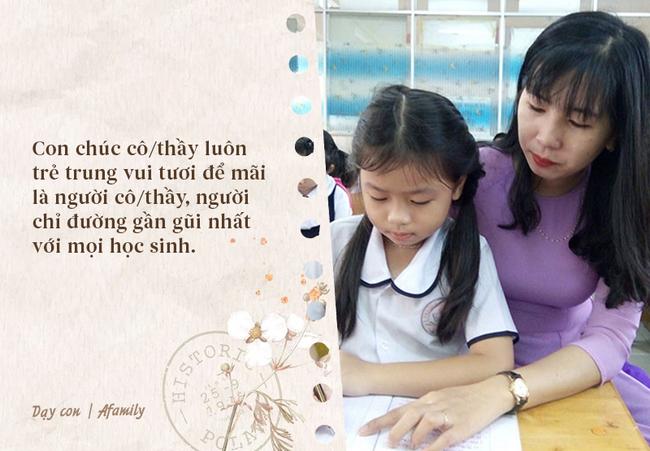 Nhân ngày nhà giáo Việt Nam, bố mẹ cùng con bỏ túi 10 câu chúc vừa ý nghĩa, vừa ấm áp tràn ngập tình thầy trò - Ảnh 8.
