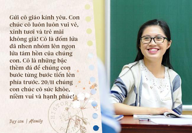 Nhân ngày nhà giáo Việt Nam, bố mẹ cùng con bỏ túi 10 câu chúc vừa ý nghĩa, vừa ấm áp tràn ngập tình thầy trò - Ảnh 10.